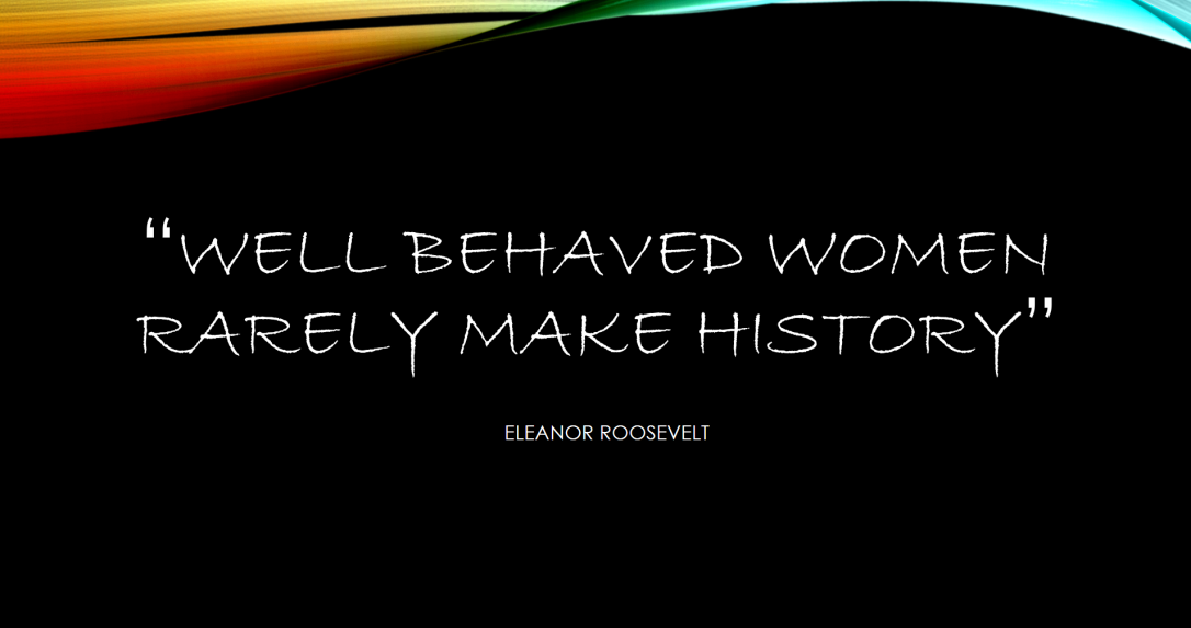 Well behaved quote